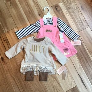 Bundle of new 12 month Juicy Couture outfits